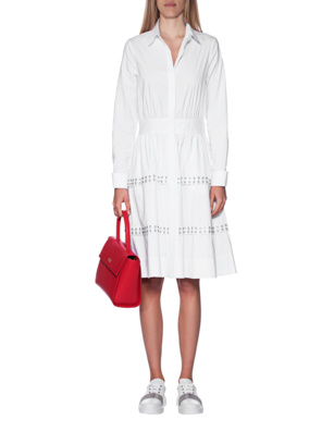 STEFFEN SCHRAUT Shirt Dress White