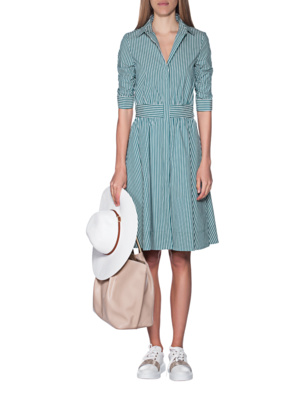 STEFFEN SCHRAUT Stripes Dress Green