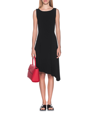 STEFFEN SCHRAUT Asymmetric Sleeveless Black