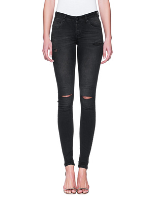 One Teaspoon Hoodlums Skinny Black