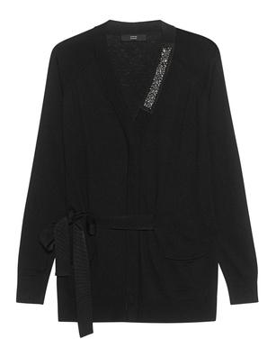 STEFFEN SCHRAUT Knit Sparkle Rhinestone Black