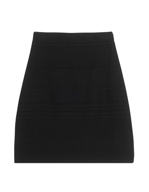 STEFFEN SCHRAUT Knit Pattern Elastic Black