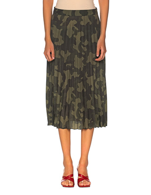 PRINCESS GOES HOLLYWOOD Camouflage Pleated Green