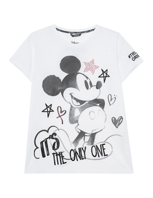 PRINCESS GOES HOLLYWOOD Sporty Mickey White