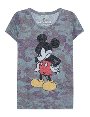 FROGBOX Camouflage Mickey Rhinestone Multicolor