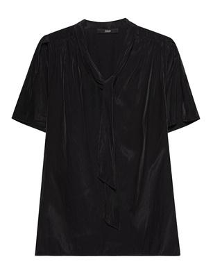 STEFFEN SCHRAUT Short Sleeve Bow Tie Black