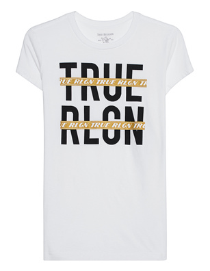 TRUE RELIGION Strikeout White