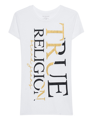 TRUE RELIGION Modern Crew White