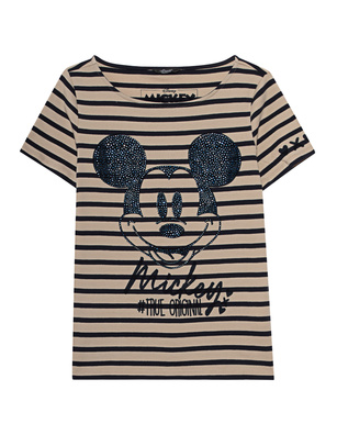 PRINCESS GOES HOLLYWOOD Mickey Decoration Stripe Beige