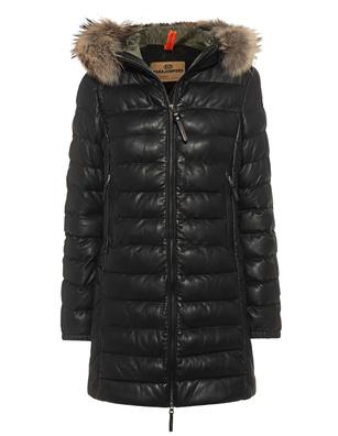 PARAJUMPERS Demi Leather Black