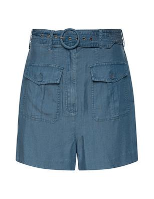 STEFFEN SCHRAUT Belted Short Blue