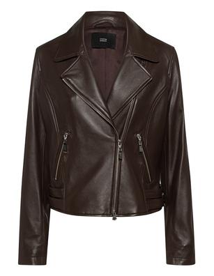 STEFFEN SCHRAUT Biker Leather Dark Brown