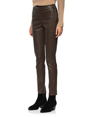 STEFFEN SCHRAUT Leather Zipper Brown
