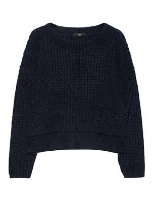 STEFFEN SCHRAUT Cropped Knit Midnight Blue