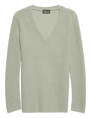 PRINCESS GOES HOLLYWOOD Wool Cashmere V Mint