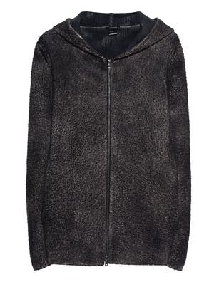 AVANT TOI Wool Hoody Zip Anthracite