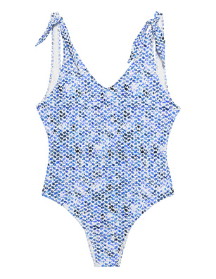 LALA BERLIN Swimsuit Kufiya Horizon Blue