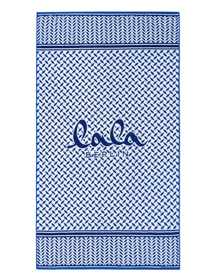 LALA BERLIN Beach Towel Lissy Blue