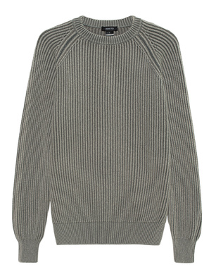 AVANT TOI Wool Cashmere Ribbed Grey