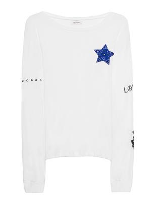 LAUREN MOSHI Rooney Classic Blue Bandana Star White