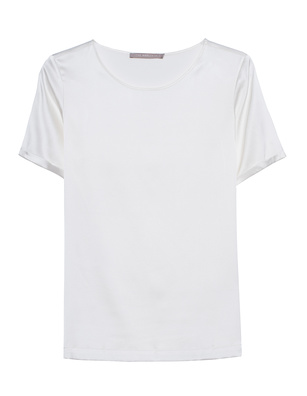 (THE MERCER) N.Y. Satinsilk Shirt Off-White