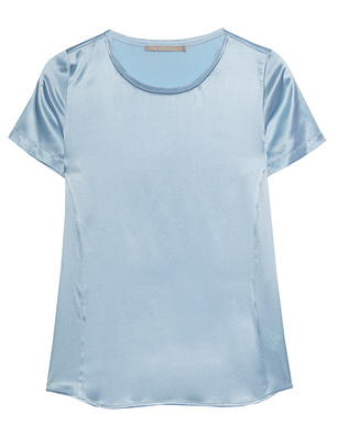 (THE MERCER) N.Y. Satin Light Blue