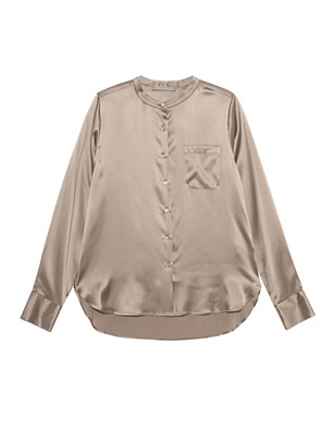 (THE MERCER) N.Y. Chest Pocket Silk Taupe