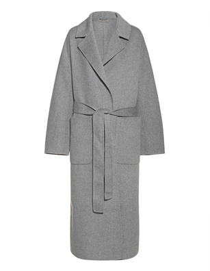 (THE MERCER) N.Y. Long Wool Cashmere Silver