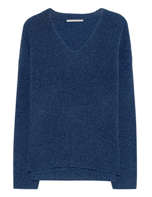 THE MERCER N.Y. Vneck Cashmere Navy