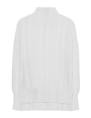 THE MERCER N.Y. Cashmere Cable Off White