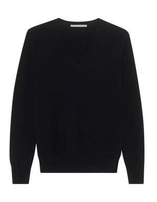 (THE MERCER) N.Y. Vneck Basic Cashmere Black