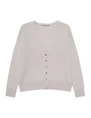 (THE MERCER) N.Y. V-NECK BASIC CASHMERE GREIGE