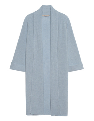 (THE MERCER) N.Y. Long Cashmere Light Blue
