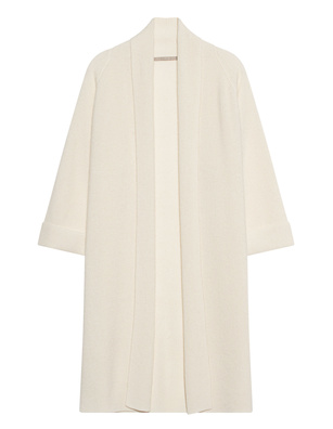 (THE MERCER) N.Y. Long Cashmere Ivory