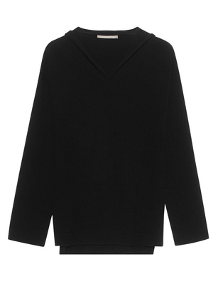 (THE MERCER) N.Y. Hooded Cashmere Black