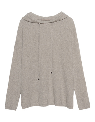 (THE MERCER) N.Y. Cashmere Hood Sand