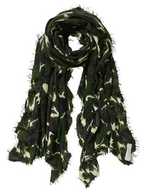 PUR SCHOEN Cashmere Camouflage Olive