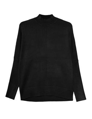 STEFFEN SCHRAUT Stand Up Collar Black