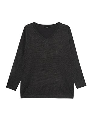 STEFFEN SCHRAUT V-Neck Wide Grey