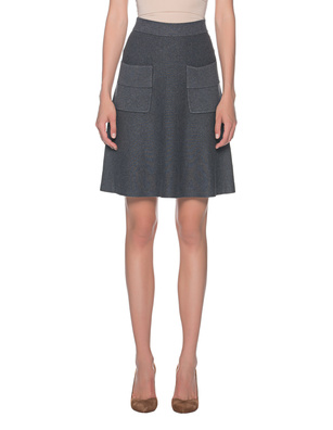 STEFFEN SCHRAUT Knit Pocket Skirt Grey