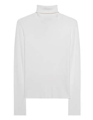 STEFFEN SCHRAUT Turtleneck Knit Slim Off-White