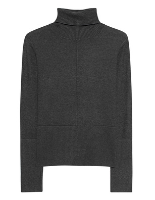 STEFFEN SCHRAUT Turtleneck Knit Slim Dark Grey