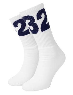 032c Blue Logo White