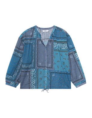 NOTSHY Oversize Namata Bandana Azur Blue