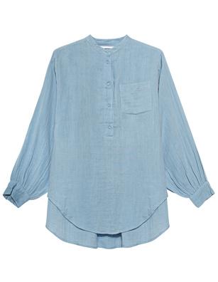 NOTSHY Oversize Double Gaze Cotton Light Blue