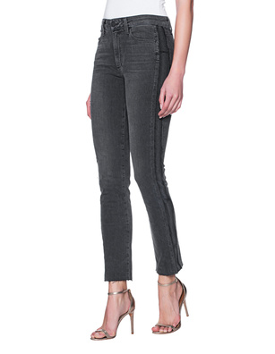 PAIGE Fringed Anthracite