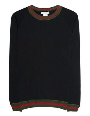 AVANT TOI Stripe Military Black