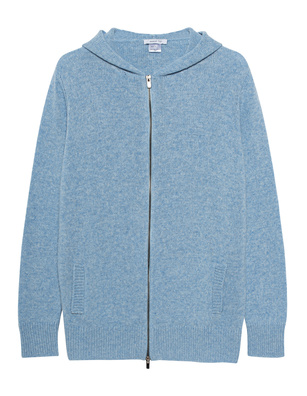 AVANT TOI Knit Zip Wool Cashmere Light Blue