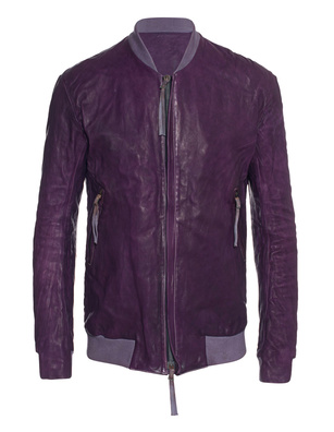 BORIS BIDJAN SABERI Dyed Leather Purple