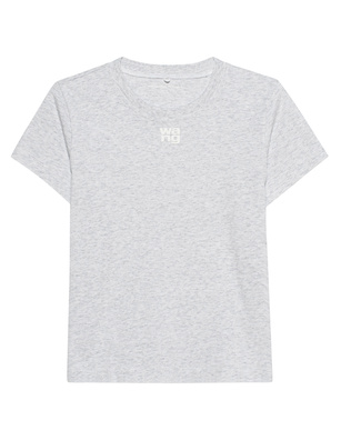 T BY ALEXANDER WANG Puff Paint Logo Light Grey
